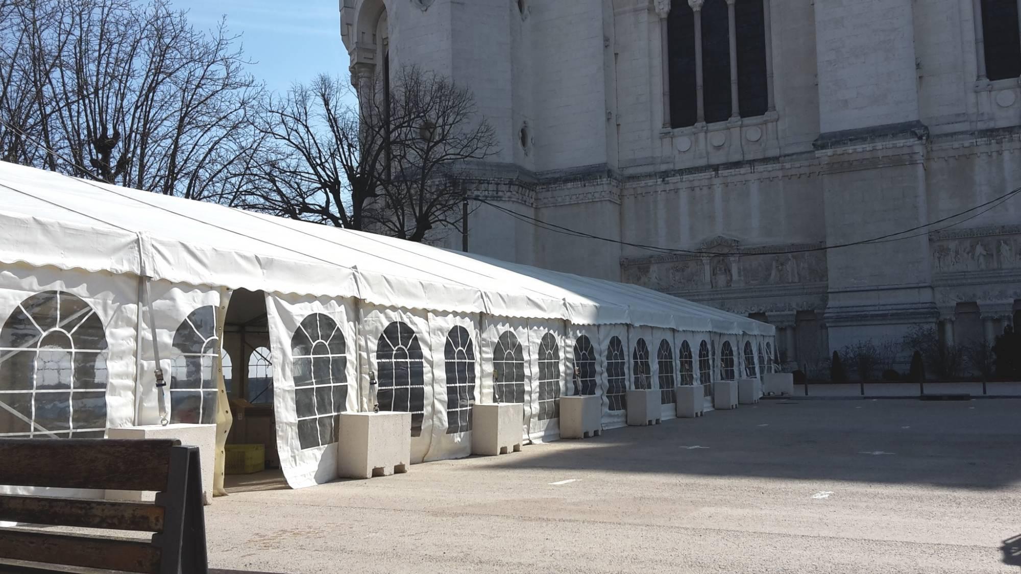 Présentation des futurs travaux de l'esplanade de Fourvière.