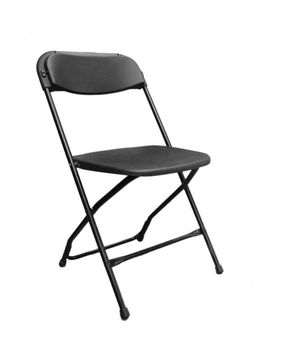 Chaise SAM pliante noire