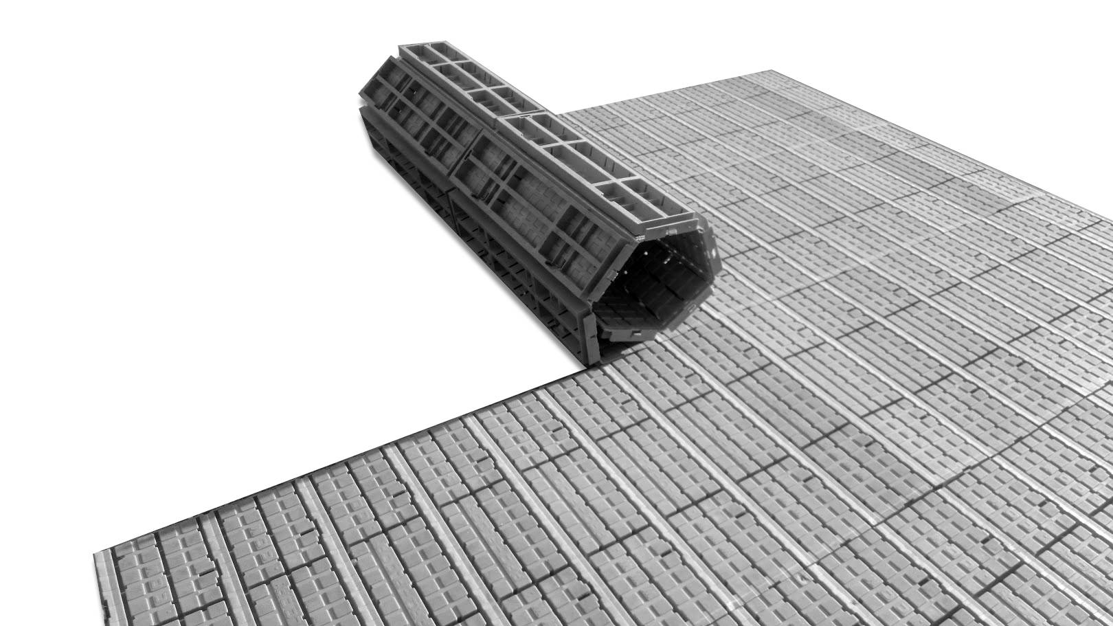 Plancher plastique en rouleau