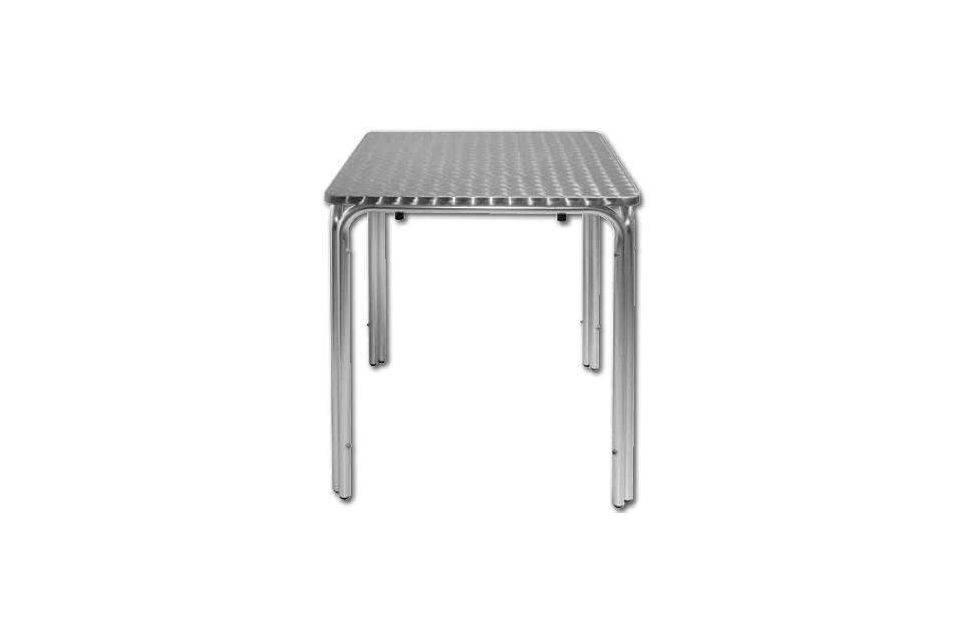 Table carrée 70 x 70 alu