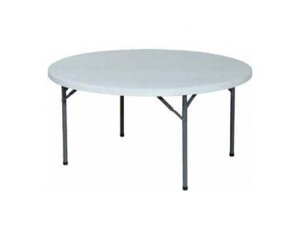 location de table ronde de 150 cm pour v nement lyon interloc. Black Bedroom Furniture Sets. Home Design Ideas